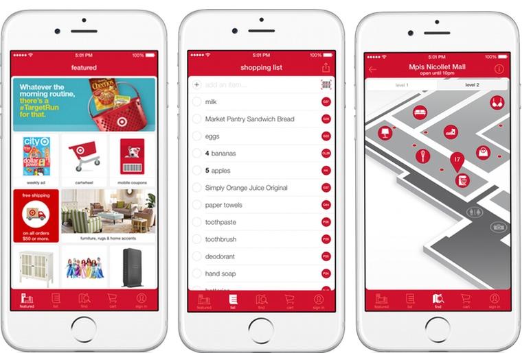 Target Mobile Application